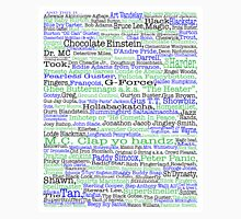 Psych tv show poster, nicknames, Burton Guster Unisex T-Shirt