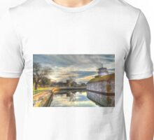 Scenic View of Moat at Fort Monroe Unisex T-Shirt