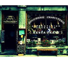 Charcuterie Photographic Print