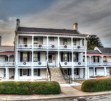 The Derussy House at Fort Monroe by lookherelucy