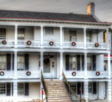 The Derussy House at Fort Monroe Sticker