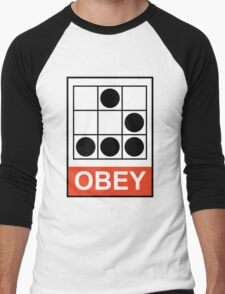 Obey Hacker Men's Baseball ¾ T-Shirt