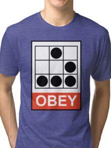 Obey Hacker Tri-blend T-Shirt