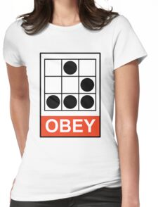 Obey Hacker Womens Fitted T-Shirt