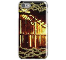 Barnlight and Barbed Wire iPhone Case/Skin