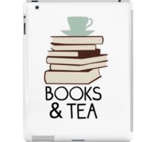 Books and tea des iPad Case/Skin