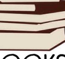 Books and tea des Sticker