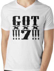 GOT7 !!!7!!! Mens V-Neck T-Shirt