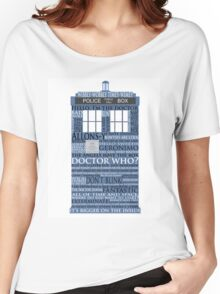 Dr. Who Whovian fans Women's Relaxed Fit T-Shirt