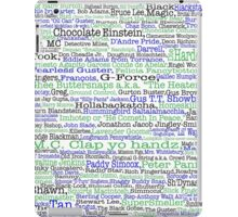 Psych tv show poster, nicknames, Burton Guster iPad Case/Skin