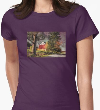 April Showers Womens Fitted T-Shirt