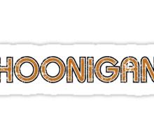 HOONIGAN retro Sticker