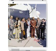Leonard Nimoy - Mr Spock Signed Photo - Star Trek Crew autograph iPad Case/Skin
