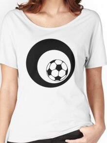 futbol : retro circles Women's Relaxed Fit T-Shirt