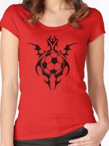 futbol : tribalz Women's Fitted Scoop T-Shirt