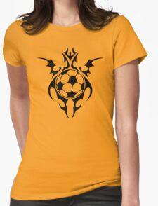 futbol : tribalz Womens Fitted T-Shirt