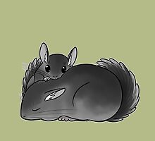 Chinchilla naptime by shawei