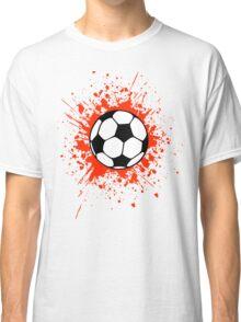 futbol soccer splat Classic T-Shirt