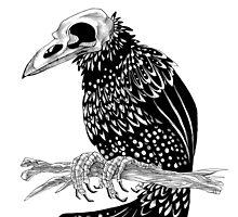 Dead Crow by Ragnheidur Asta Valgeirsdottir