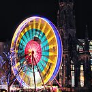 Edinburgh's Christmas Ferris Wheel by Andrew Ness - www.nessphotography.com