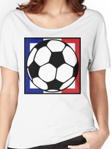 futbol : francaise square Women's Relaxed Fit T-Shirt