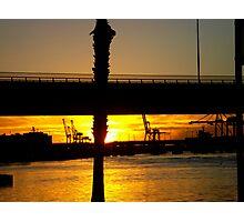 Sunset Dock Photographic Print