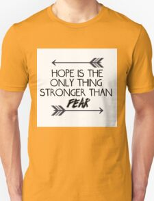 The hunger games quote design Unisex T-Shirt