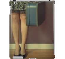 Never To Look Back iPad Case/Skin