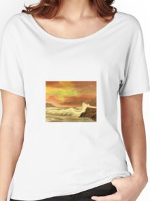 Seascape 1 Women's Relaxed Fit T-Shirt