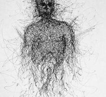 Anxiety cloud figure by Filip Gramatikofski