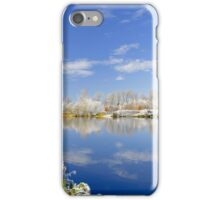 Burton's Wintry River Trent  iPhone Case/Skin