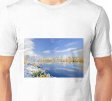 Burton's Wintry River Trent  Unisex T-Shirt