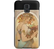 'Fruit' by Alphonse Mucha (Reproduction) Samsung Galaxy Case/Skin
