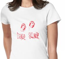 Dance all nite  Womens Fitted T-Shirt