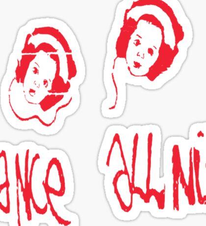 Dance all nite  Sticker