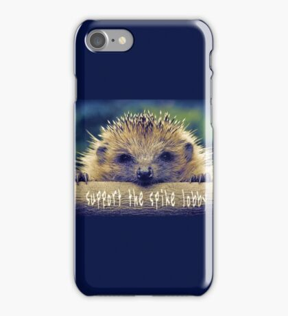 Support the Spike Lobby iPhone Case/Skin