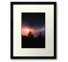 SUNRISE, GREAT SMOKY MOUNTAINS NP Framed Print