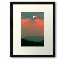 SUNSET, GREAT SMOKY MOUNTAINS NP Framed Print