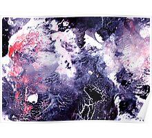 violet storm gathering....... Poster