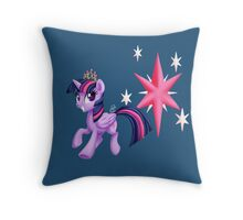 Princes Twilight Sparkle Throw Pillow