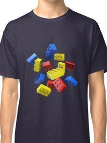 Falling Toy Bricks Classic T-Shirt
