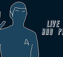 Live Long and Prosper~ by LadyFullmetal