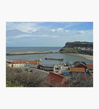 Whitby Lower Harbour  Photographic Print