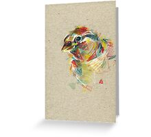 Birdie IV Greeting Card