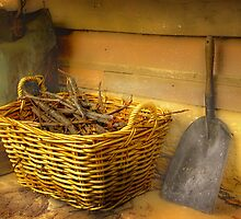 The Wood Basket . . . by Rosalie Dale