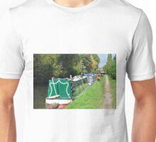 Boats Near Horninglow Basin  Unisex T-Shirt