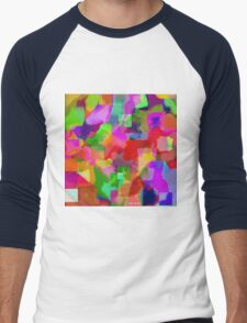 """"""" In every color there is a light """" Men's Baseball ¾ T-Shirt"""