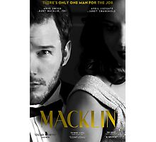 """Macklin"" poster 2 Photographic Print"