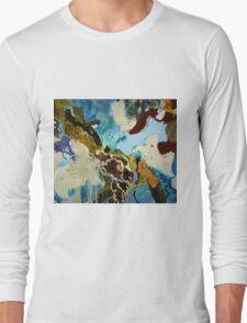 Birds and Ships Long Sleeve T-Shirt