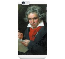 Beethoven bum iPhone Case/Skin